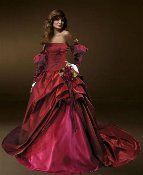 Red Gothic Strapless Wedding Dress With Ball Gown. Off The Shoulder Backless Wedding Dress. Wedding Dresses By Style Number. Wedding Guest Dresses For Spring. Colored Wedding Dresses.com. Wedding Dresses Online Shop. Wedding Dresses With Pockets 2016. Unique Vintage Wedding Dresses Uk. Wedding Dress Trumpet Pinterest