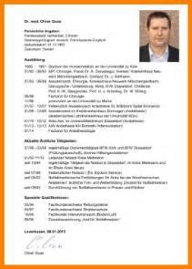curriculum vitae format 2013 13 tabellarischer lebenslauf berufserfahrung resignation format