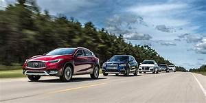 Car And Driver Tests The Five Hottest Luxury Compact Suvs