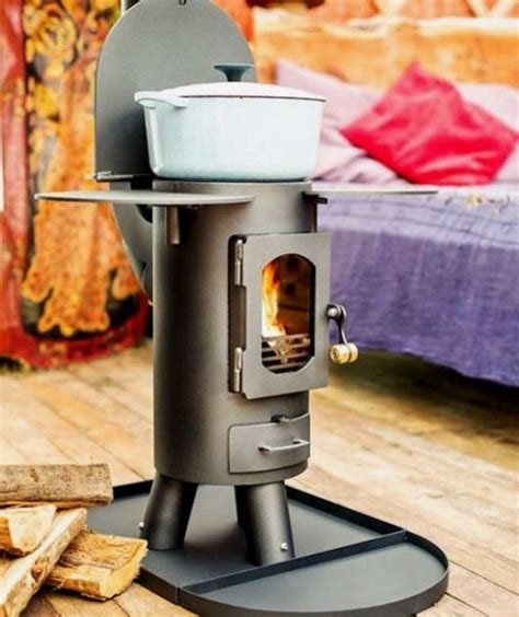 tiny space stove mercedes benz vans   camping
