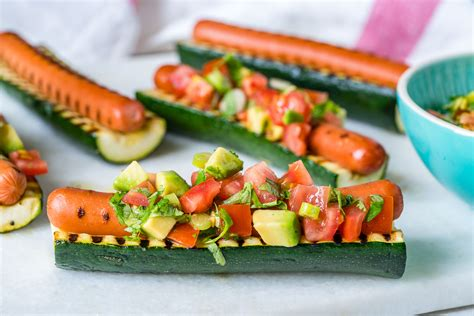 Zucchini Boat Recipes On The Grill by These Grilled Zucchini Boats Are And