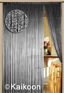 Vorhänge Silber Glänzend : fadenvorhang 150 cm x 300 cm silber gl nzend bxh fadenvorh nge fadenvorhang bis 1 5 m ~ Whattoseeinmadrid.com Haus und Dekorationen