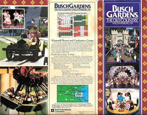 brochure busch gardens the country 1991 the dod3