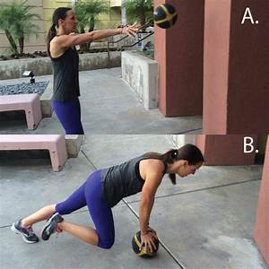 Strength Training: 8 Medicine Ball Exercises for Toning ...