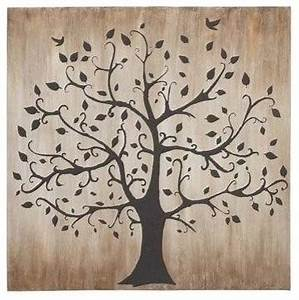 tree themed classy canvas wall art transitional With kitchen cabinets lowes with tree of life carved wooden wall art
