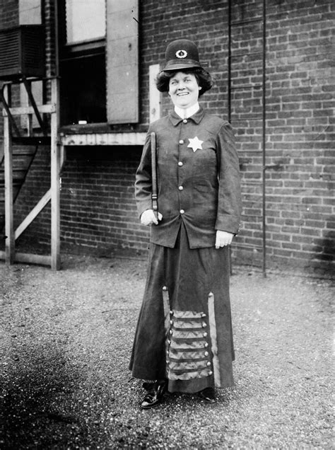 The Woman Cop A Dream Suffragette Imagines Being Americas First Policeman