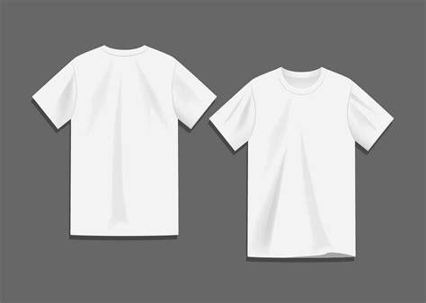 tshirt kaos baju 1 white blank t shirt template vector free vector