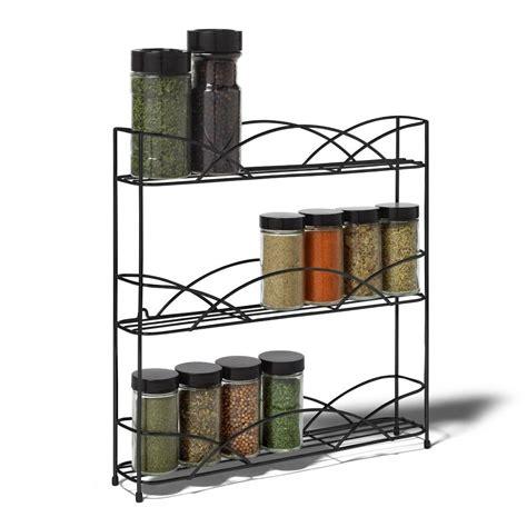 metal kitchen racks metal kitchen spice rack holder bottle tier storage stand counter