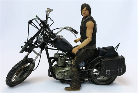 Mcfarlane The Walking Dead Daryl Dixon + Motorcycle