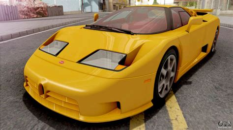Upgrades for the ss included. Bugatti EB110 SS (US-Spec) 1992 IVF for GTA San Andreas