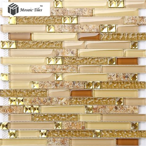 kitchen mosaic tiles tst glass conch tiles golden glass mosaic tile sheets 2324