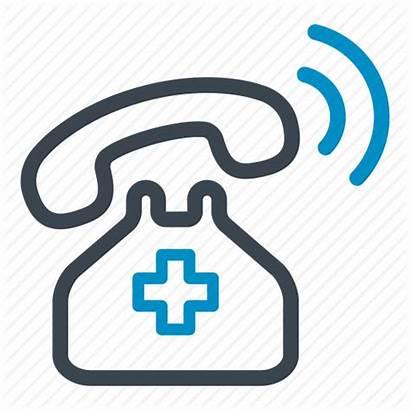 Icon Call Phone Emergency Clinic Calls Health