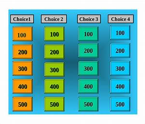 kids jeopardy questions kids matttroy With kids jeopardy template