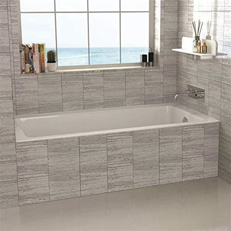 corner drop  soaking tub amazoncom