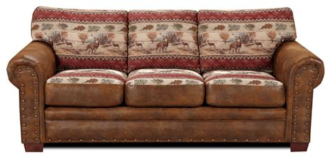Southwestern Sofas by Deer Valley Sofa Southwestern Sofas By American