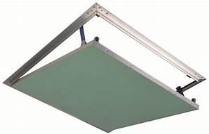 Trappe De Plafond : trappe de visite plpp invisible ~ Premium-room.com Idées de Décoration