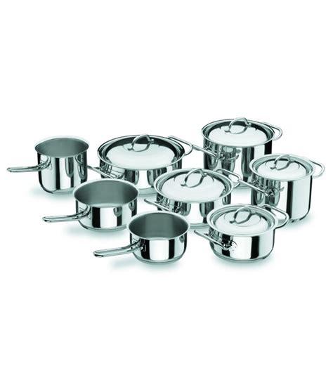 batterie de cuisine professionnelle batterie de cuisine 8 pièces professionnelle de lacor