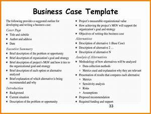 simple business case templates beneficialholdingsinfo With pmi business case template