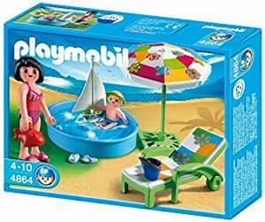 Playmobil 4864 Jeu de construction Pataugeoire: Amazon fr: Jeux et Jouets