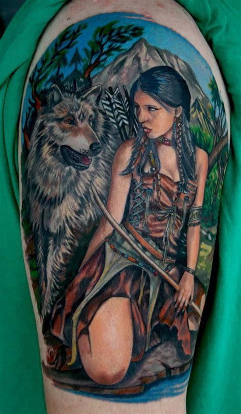 cool native american tattoos pictures hative