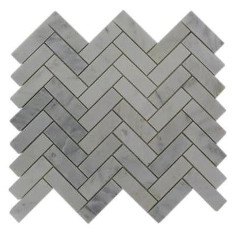 splashback glass tile oriental sculpture herringbone 12 in