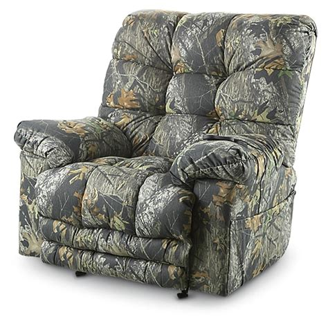 Camo Recliners Sale by Catnapper 174 Magnum Recliner Chair Mossy Oak 174 177554