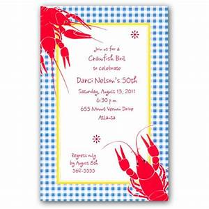 Birthday Crawfish Boil Invitations PaperStyle