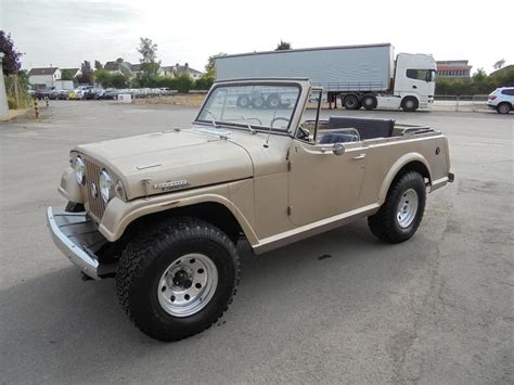 ebay jeep kaiser jeepster commando xgold  rustfree  rare  uk runs