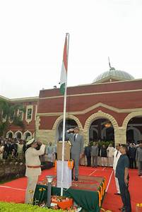 Flag Hoisting Ceremony On Independence Day 15th August