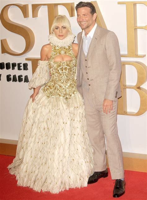 Lady Gaga Goes For Grandiosity In Regal Alexander Mcqueen Gown
