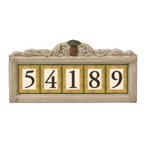 ceramic address tiles