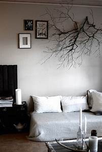 Branch as wall decoration the style files