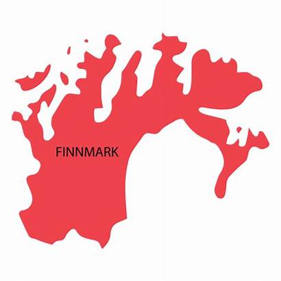 Finnmark Karte County Vexels