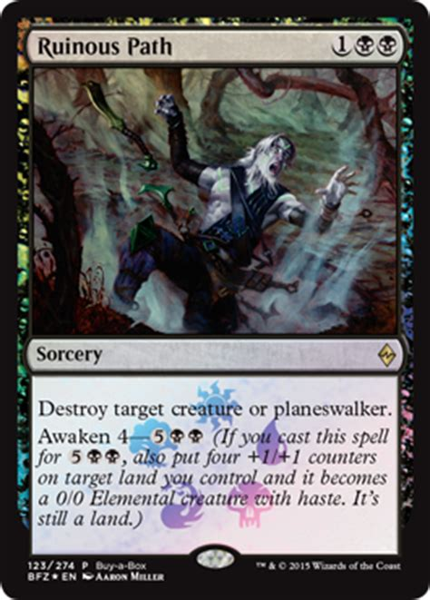 Spell Anticipate by The Promos Of Battle For Zendikar Magic The Gathering