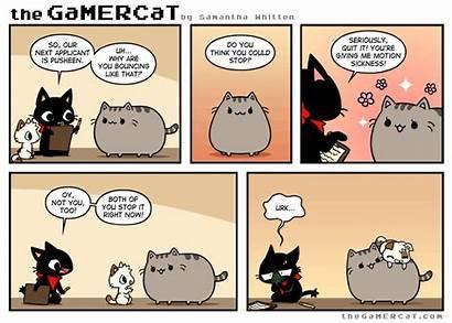 Gamercat Comic