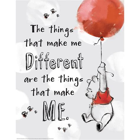 Winnie The Pooh The Things That Make Me Different Poster