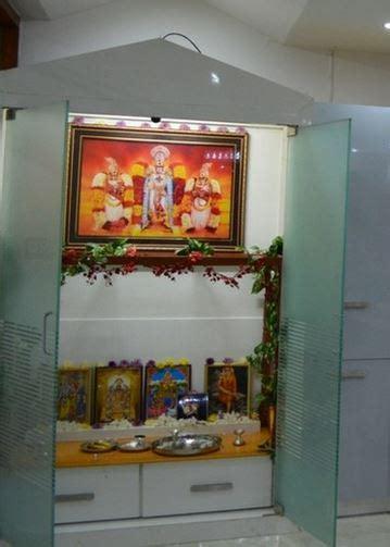 pooja room designs  glass pooja room designs