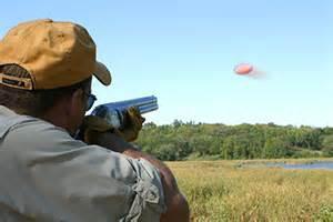 Sporting Clays Shooting Target