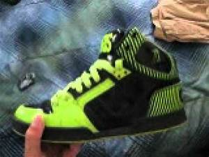 Osiris shoe review neon green