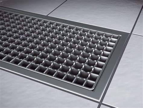 Stainless Steel Drains and Channels   KESSEL   Leading in