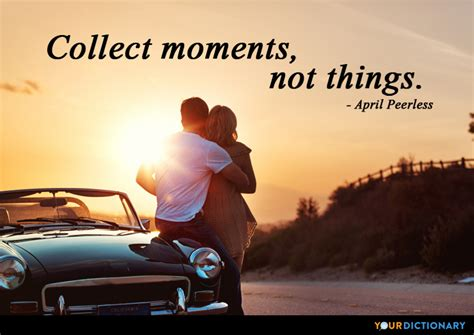 collect moments   april peerless quote