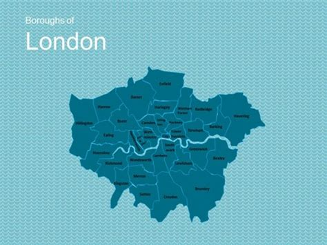 map  london template