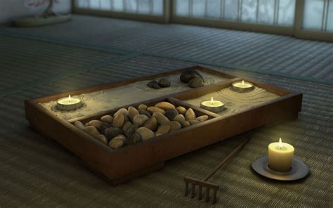 zen desktop gardens garden decor