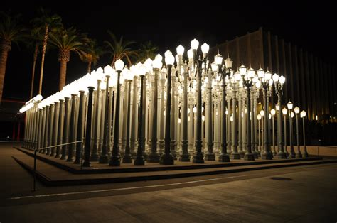 los angeles street lights the frame video chris burden remembering the la