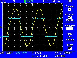 Using The Atmega Analogue Comparator For Zero Crossing