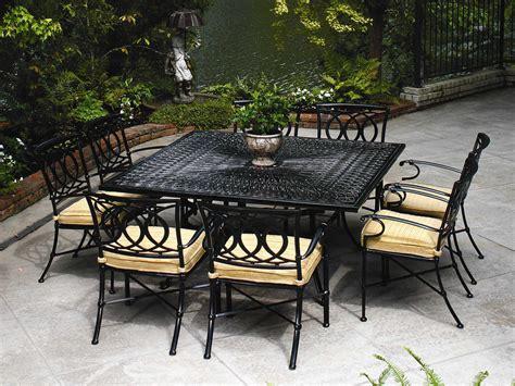winston marseille cast aluminum dining chair m43001