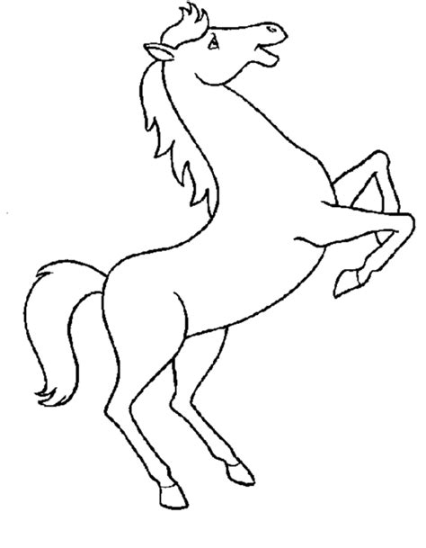 printable horse coloring pages  kids party ideas
