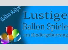 Ballon Spiele am Kinderfest Ballon Rallye YouTube