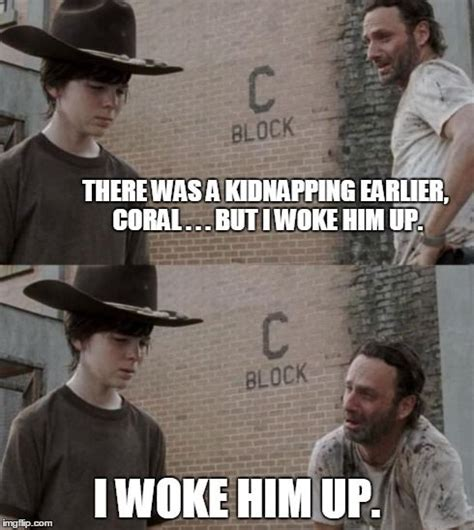 Walking Dead Rick And Carl Meme - rick carl nap heh pinterest walking dead memes and carl meme