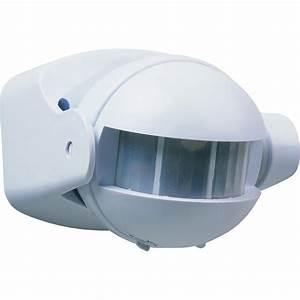 Branchement Detecteur De Mouvement : d tecteur de mouvement pour clairage 180 smartwares ~ Dailycaller-alerts.com Idées de Décoration